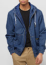 Hooded Denim Blouson mid blue
