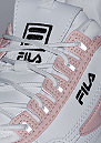 FILA x Snipes Disruptor Low white/rose quartz/black