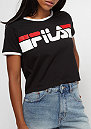 Urban Line cropped Tee Ashley black / bright white