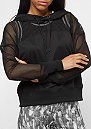 Ladies Mesh Hoody black