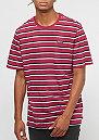 JDI Stripe white/red crush/red crush