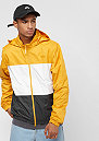 Dry Hooded Stripe yellow ochre/white/anthracite