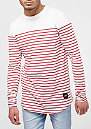 Longsleeve With Stripes red