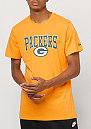 Team App Tee NFL Green Bay Packers gold