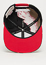 NBA Chicago Bulls Camo Paintbrush Snap black