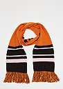Basic Logo Scarf orange/black