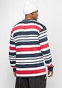 Stripes white/navy/red