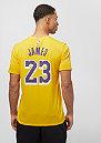 NBA LA Lakers Lebron James Dry yellow