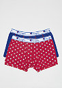 2x Boxer Champion Mix Red logo print/royal blue