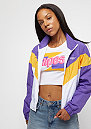 Block Trackjacket purple/yellow/white