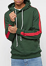 Carnaby Hood olive/red