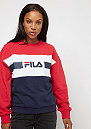 FILA Urban Line Angela Sweat crew 2.0 BriWhi/TruRe/Black Iri