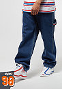 Karl Kani x Snipes Denim Baggy Pants blue