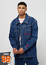 Karl Kani x Snipes Denim Shirt Jacket blue