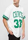 NBA Boston Celtics Larry Bird white/green