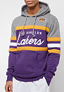 NBA Head Coach LA Lakers grey/purple
