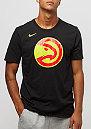 ES Logo NBA Atlanta Hawks black