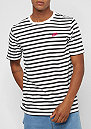 Stripe Futura black/white/rush pink