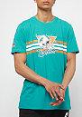 Retro Script NFL Miami Dolphins turquoise