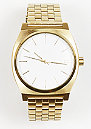 Uhr Time Teller gold/white