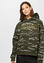 Camo Cropped forest night/aop