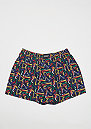 3er Boxer Cuffed graphic,art,navy