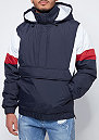 3 Tone Pull Over navy/white/fire red
