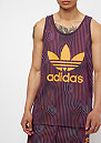 Warped Stripes Tank purple