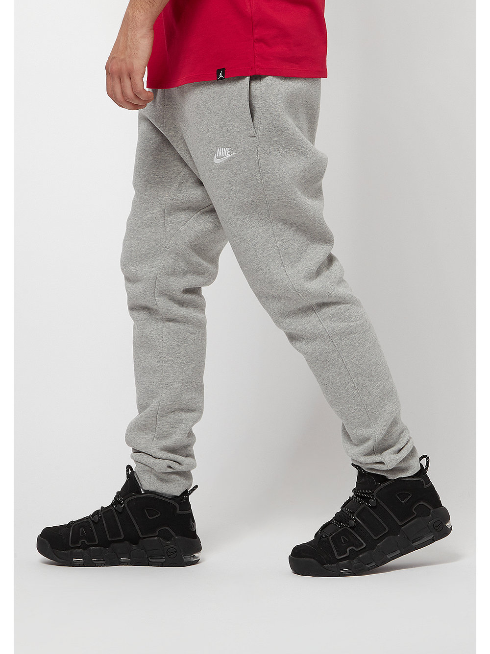 nike trainingshose sportswear jogger dark grey heather white bei snipes bestellen. Black Bedroom Furniture Sets. Home Design Ideas