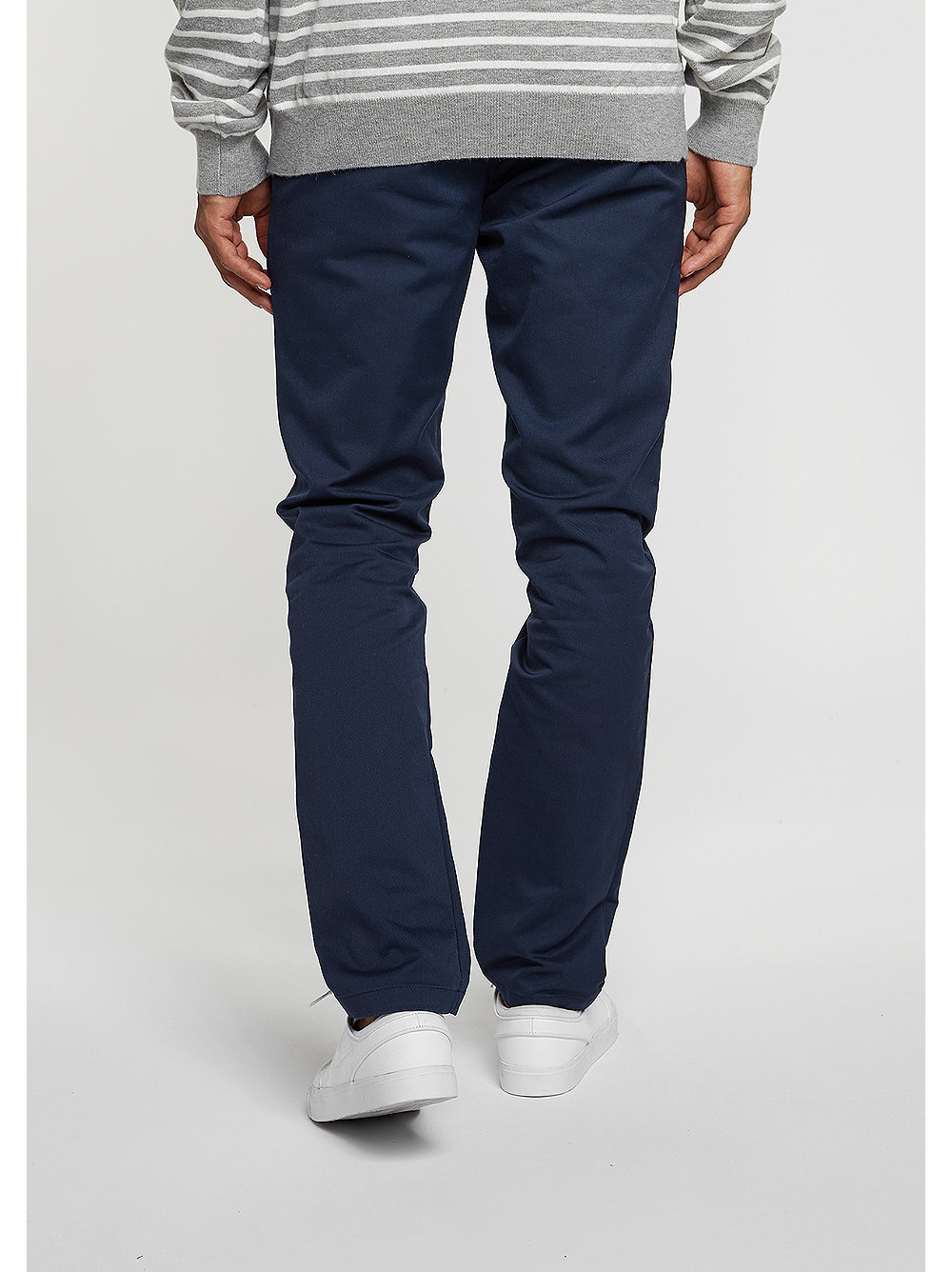 carhartt wip chino hose sid navy snipes onlineshop. Black Bedroom Furniture Sets. Home Design Ideas