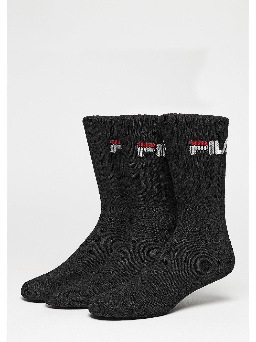 Fila Fila Men Sport Socks 3pack F9505 Black