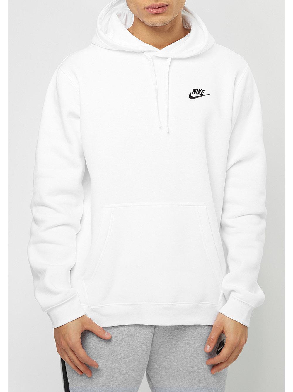 nike hooded sweatshirt sportswear white white black. Black Bedroom Furniture Sets. Home Design Ideas