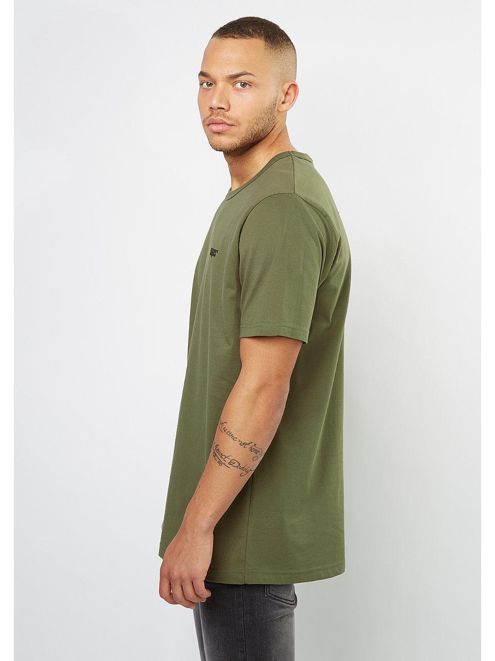 snipes t shirt chest logo olive night snipes onlineshop. Black Bedroom Furniture Sets. Home Design Ideas