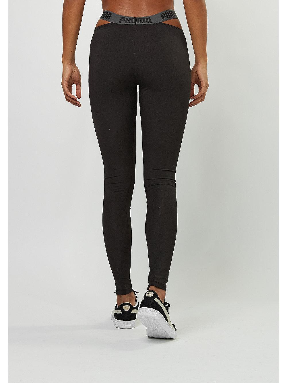 puma leggings cut out