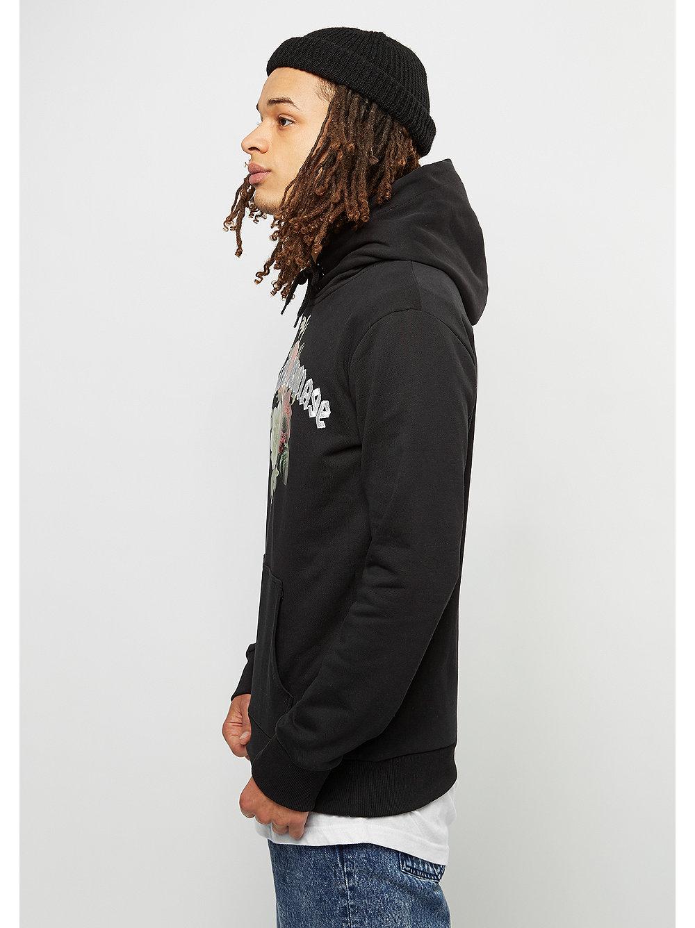 criminal damage hooded sweatshirt gabriel black multi bei snipes bestellen. Black Bedroom Furniture Sets. Home Design Ideas