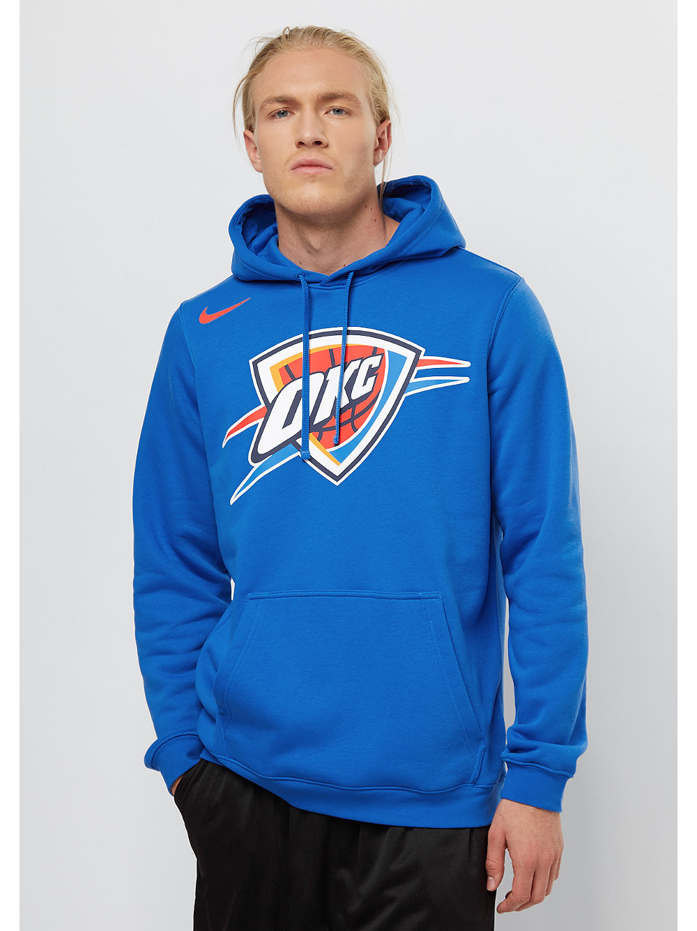 nike hoodie nba oklahoma city thunder snipes onlineshop. Black Bedroom Furniture Sets. Home Design Ideas