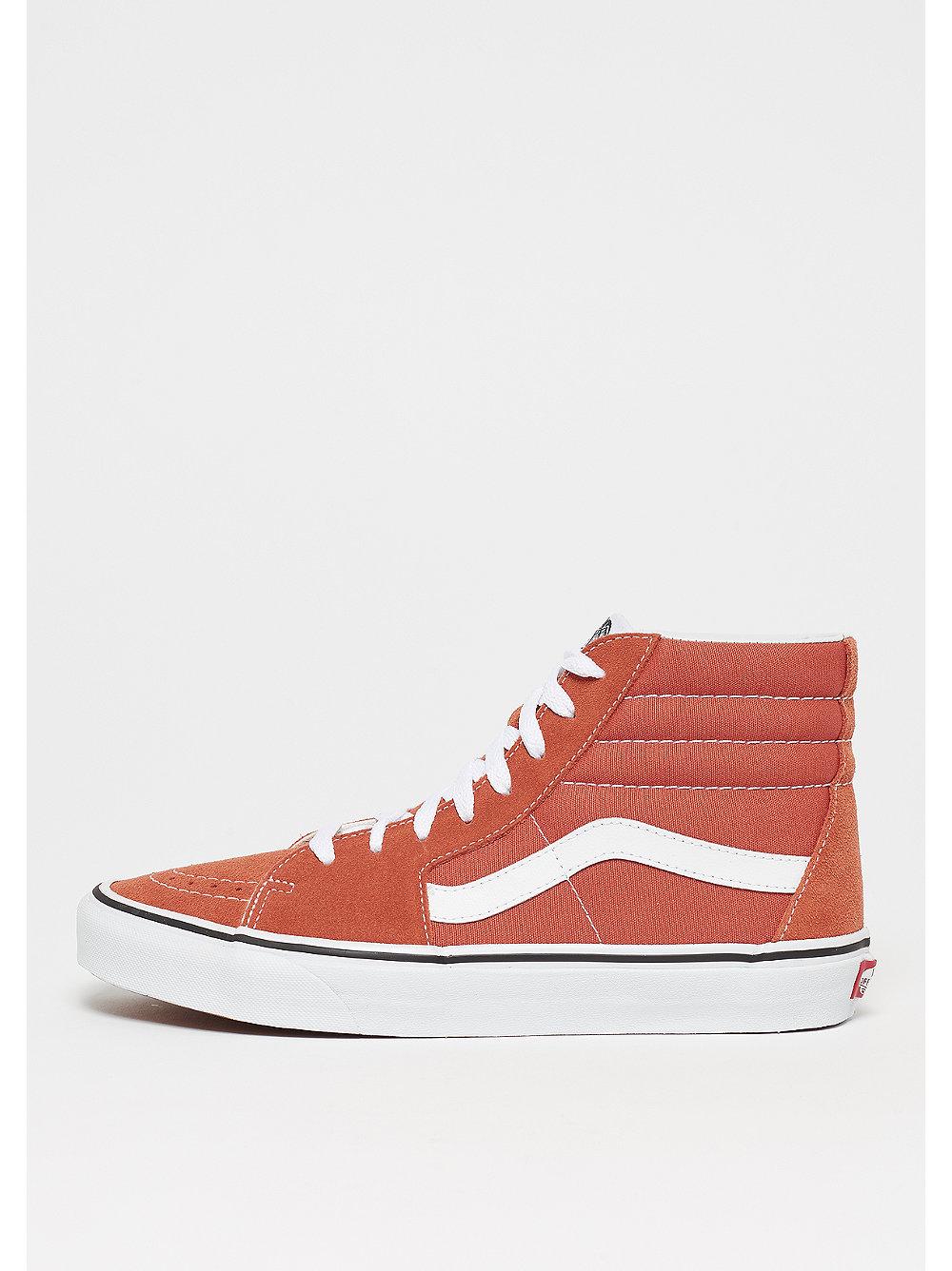 VansUA sk8hi Autumn Glaze/True White Sneaker Scarpe Sportive