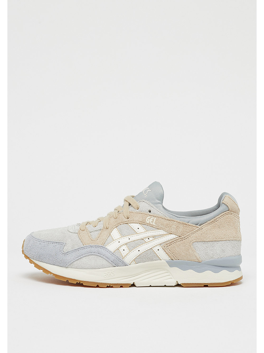 Asics Tiger GEL-LYTE V - Zapatillas glacier grey/cream xTQkU