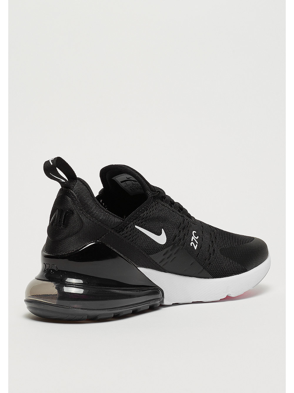NIKE Air Max 270 black anthracite white solar red bij . 500a300f9