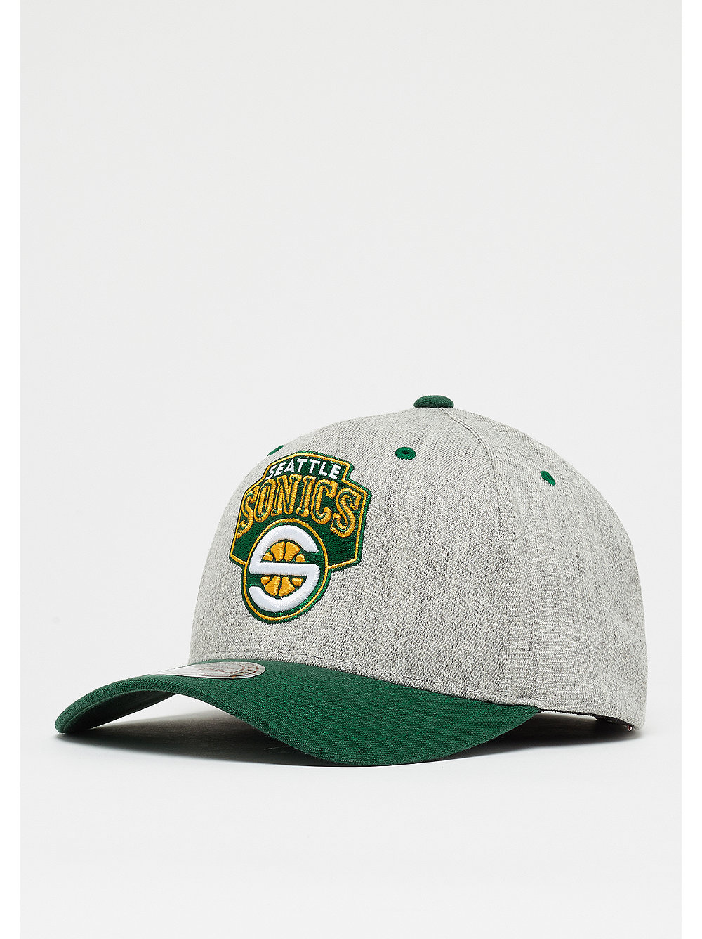 the latest a119d 8b290 Mitchell   Ness Team Logo 2 Tone 100 HWC NBA Seattle Supersonics grey black