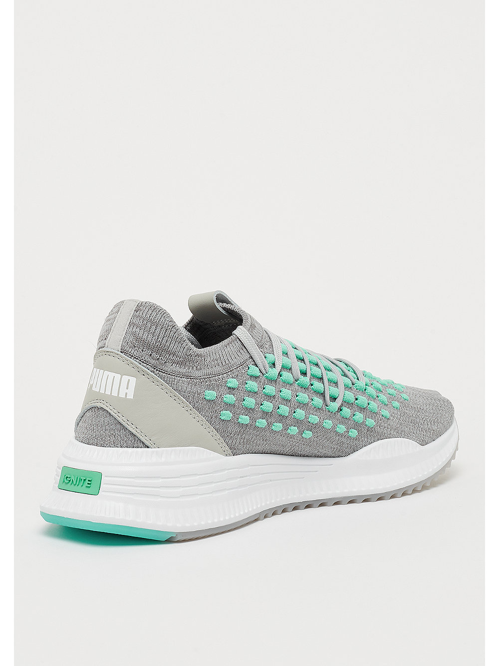 newest 36d71 e08b1 Puma AVID Fusefit gray violet biscay green puma white