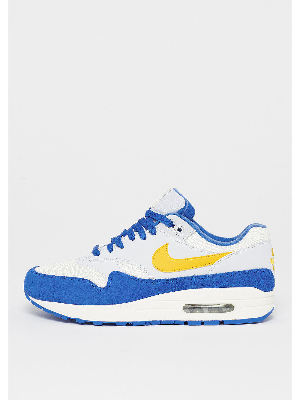 outlet store 560d1 71df8 NIKE Air Max 1 sail amarillo pure platinum signal blue