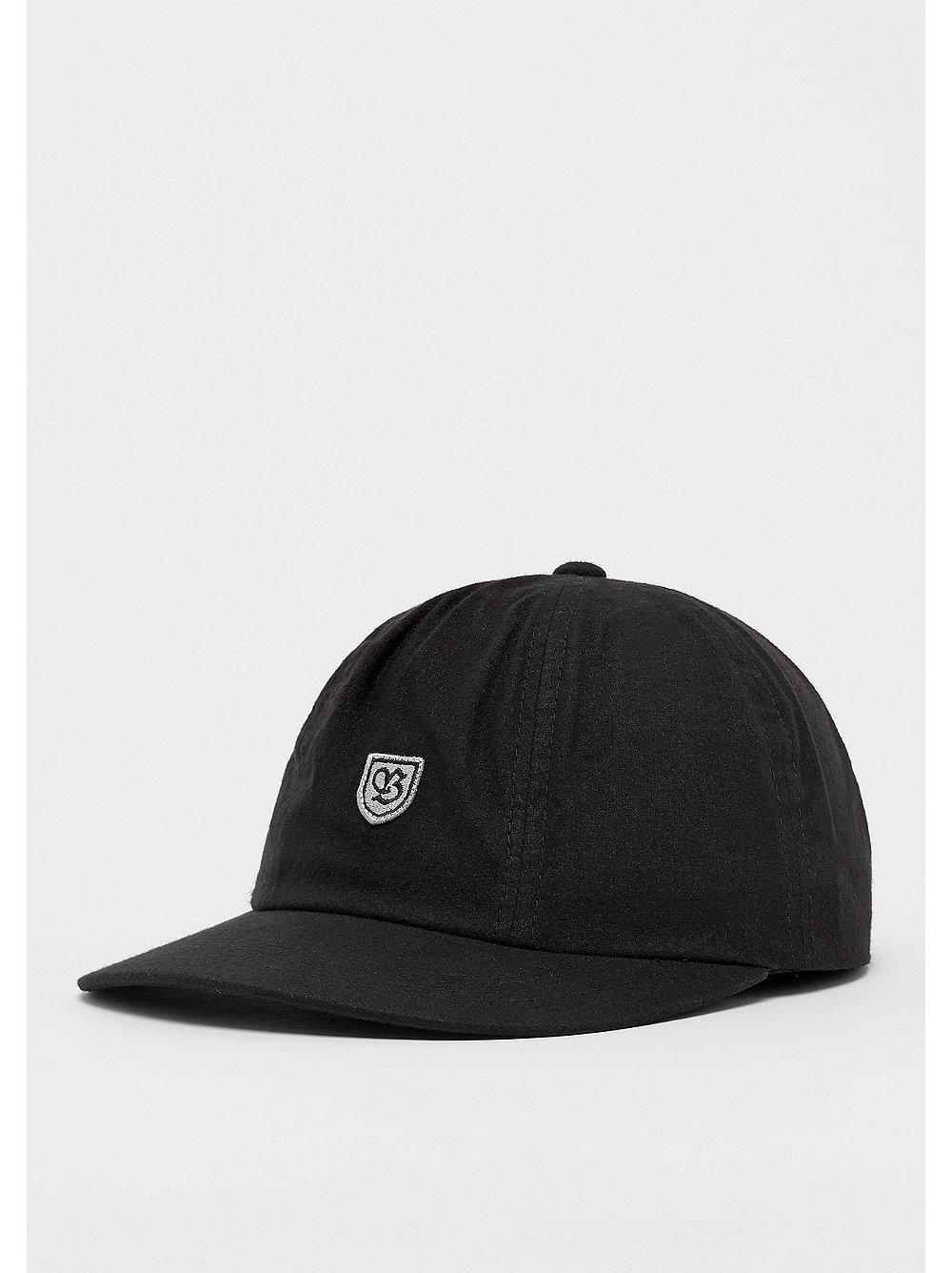 86204a0c359 Brixton B-SHIELD III CAP BLACK GREY bij SNIPES bestellen