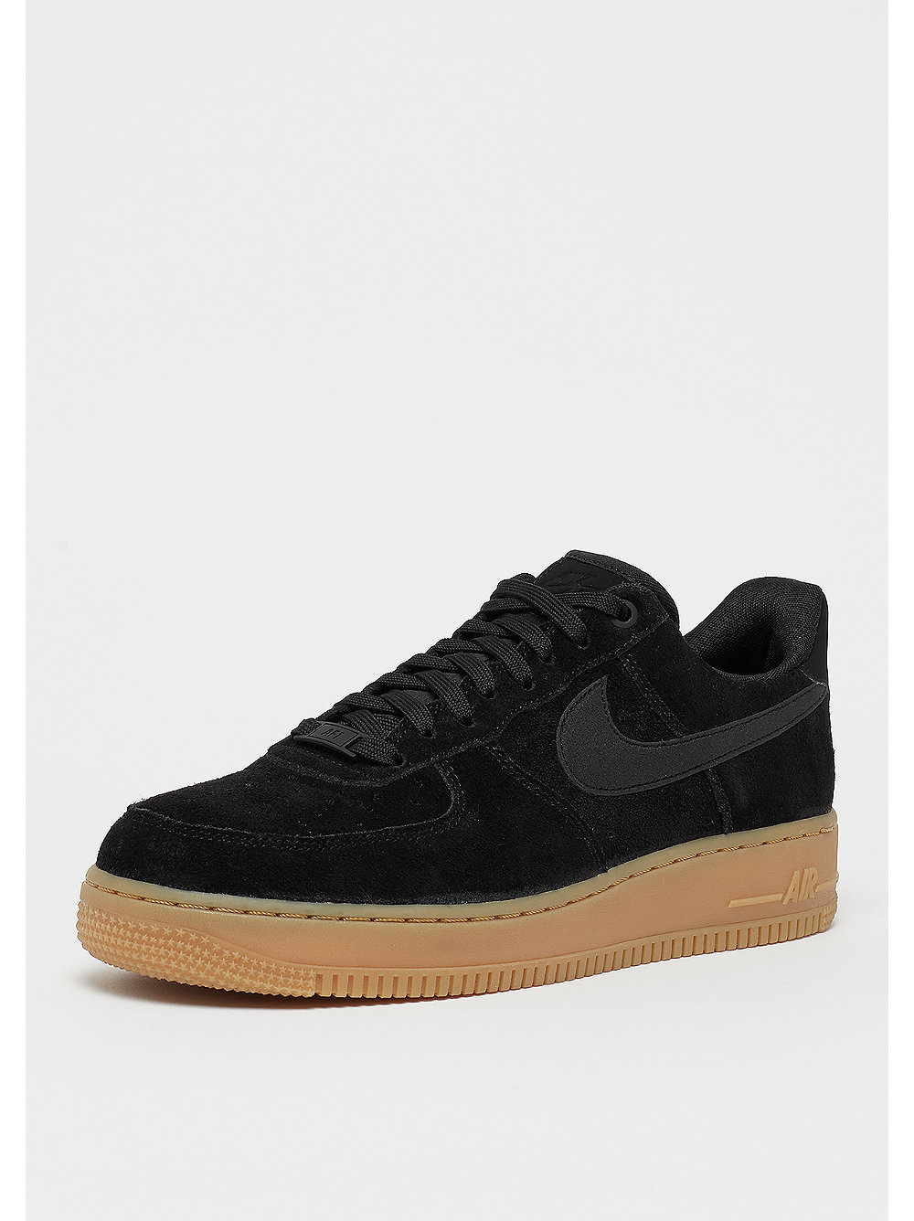 differently 52a9a 06e86 ... NIKE Air Force 1 07 LV8 Suede blackblackgum red ...