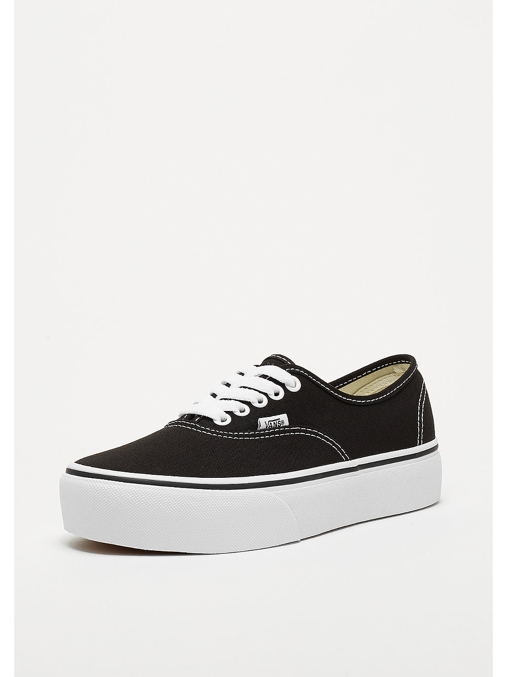 vans damen authentic platform 2.0 sneaker schwarz