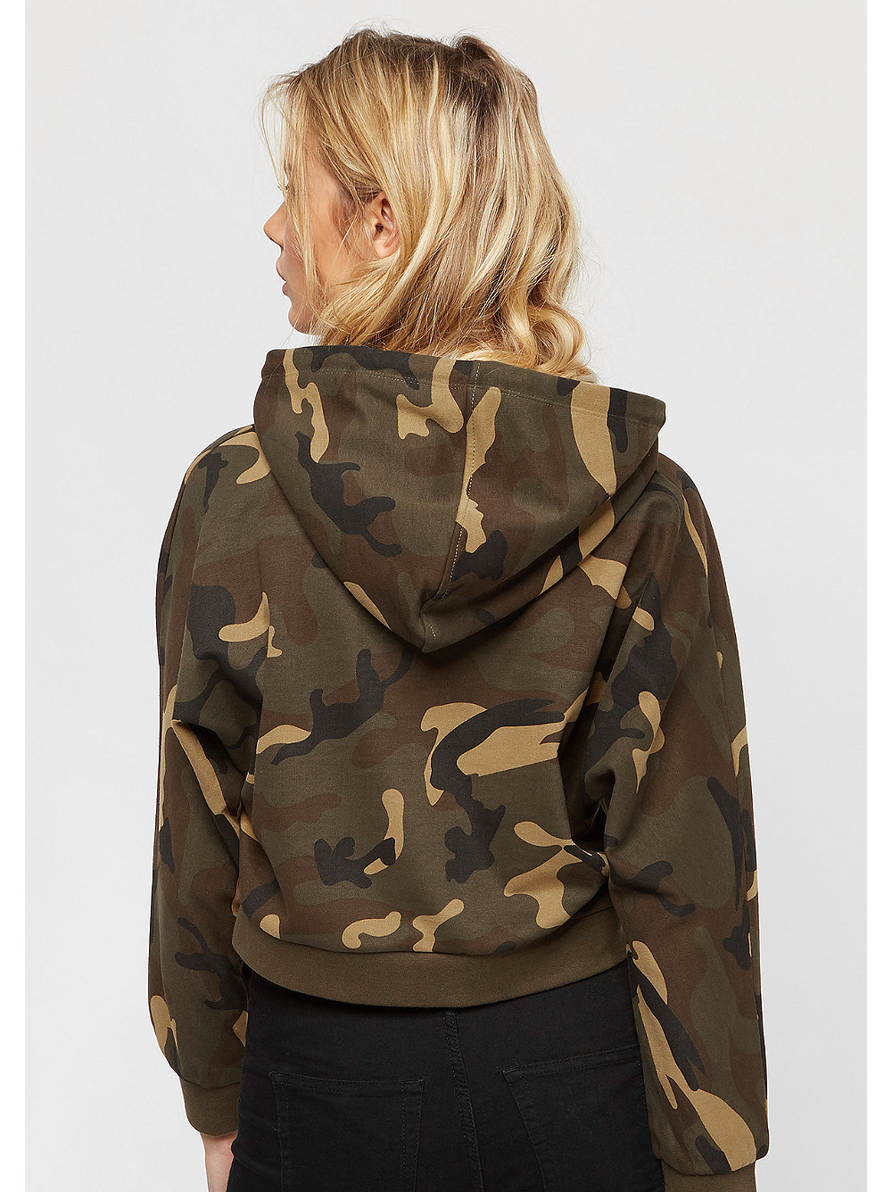 basic logo hoody camo von snipes bestellen. Black Bedroom Furniture Sets. Home Design Ideas