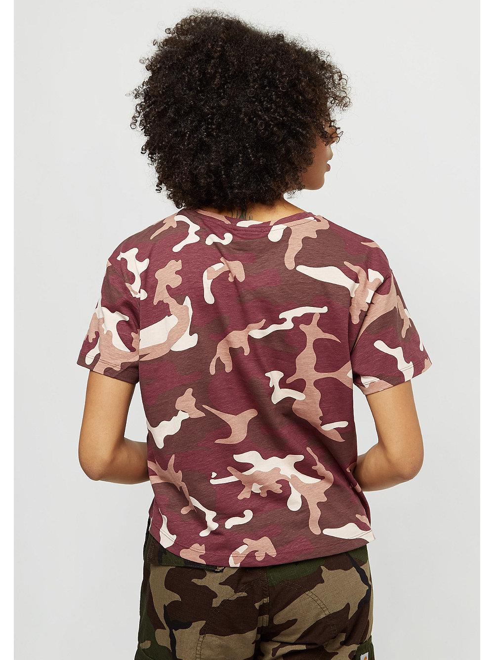 basic logo rose camo t shirt von snipes bestellen. Black Bedroom Furniture Sets. Home Design Ideas
