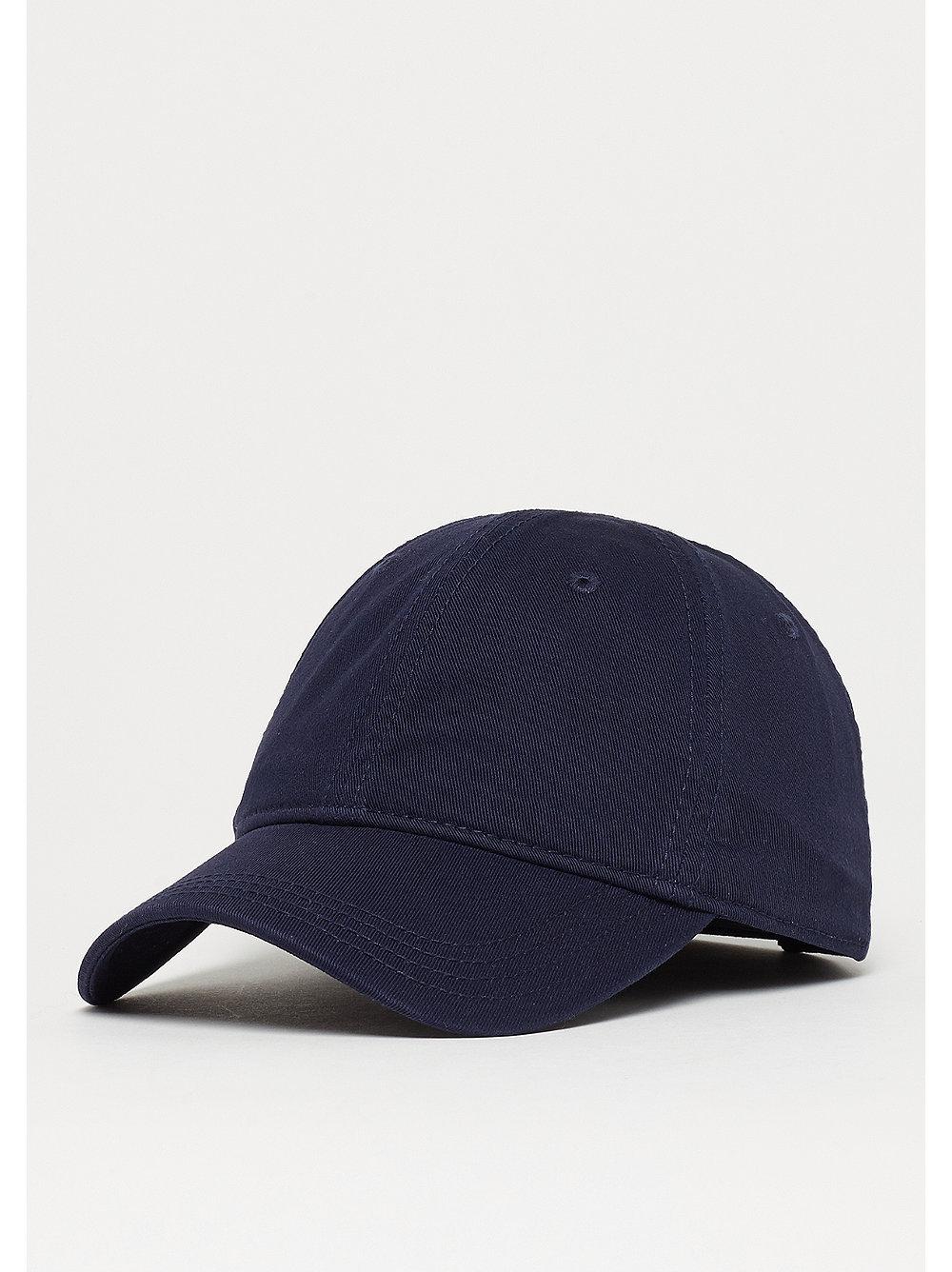 1635bbf537650 Compra ahora la gorra de béisbol azul marino 2 con logo de Lacoste en SNIPES