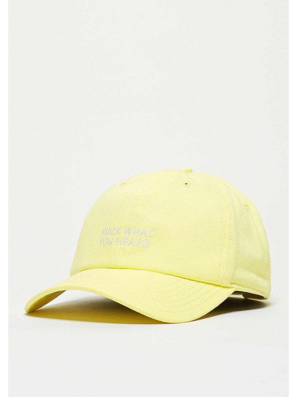 Cayler & Sons Baseball-Cap CSBL What You Heard Curved yellow
