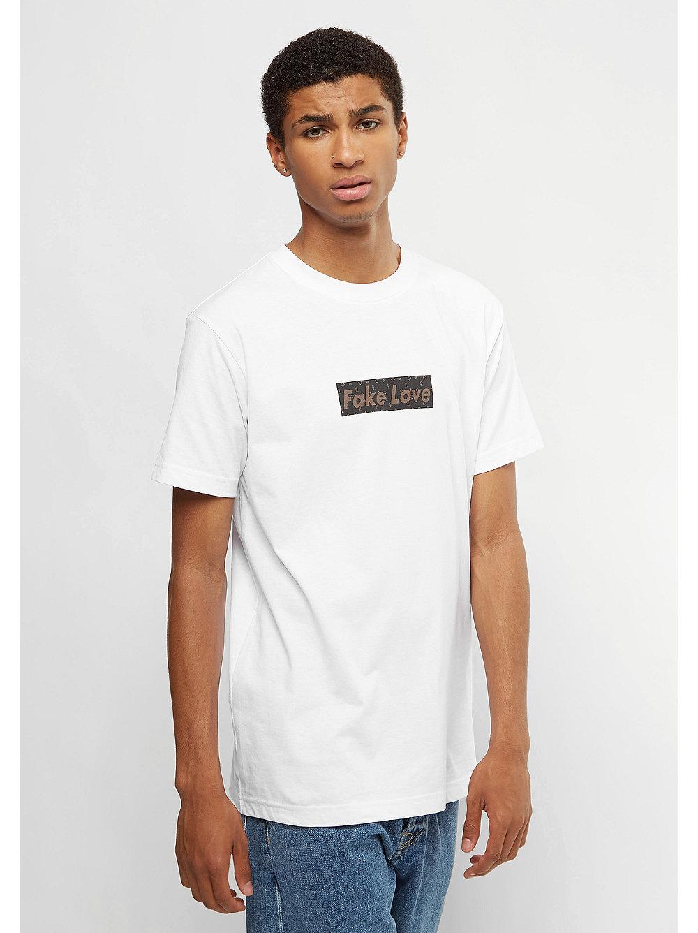 fake love t shirt white von mister tee bei snipes kaufen. Black Bedroom Furniture Sets. Home Design Ideas
